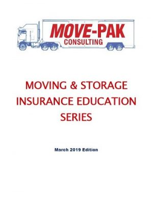 Cover of the Moving and Storage Storage Insurance Education Series